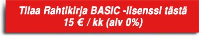 Vain 15 euroa kuukaudessa Alv 0%